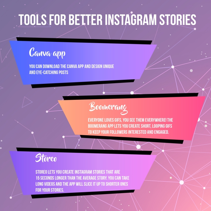 TOOLS FOR BETTER INSTAGRAM STORIES